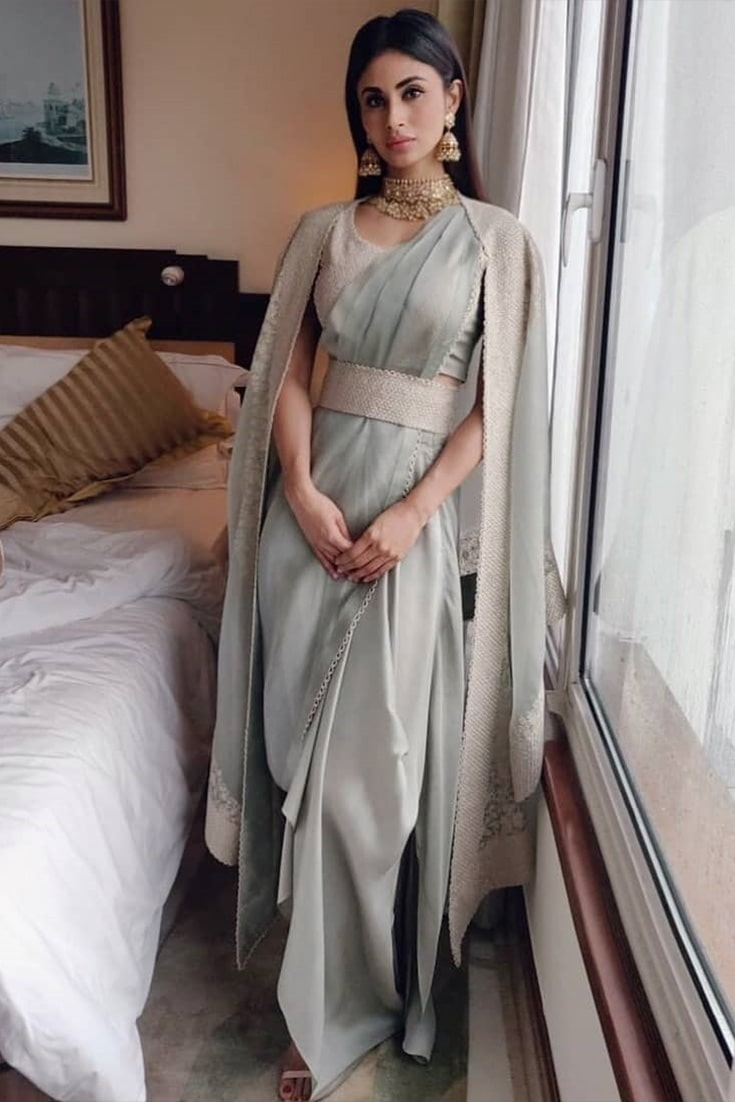 Mouni Roy in Anamika Khanna