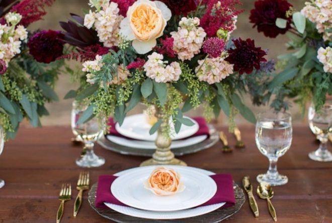 Entrées & Desserts; Few tips For a Spectacular Wedding Menu