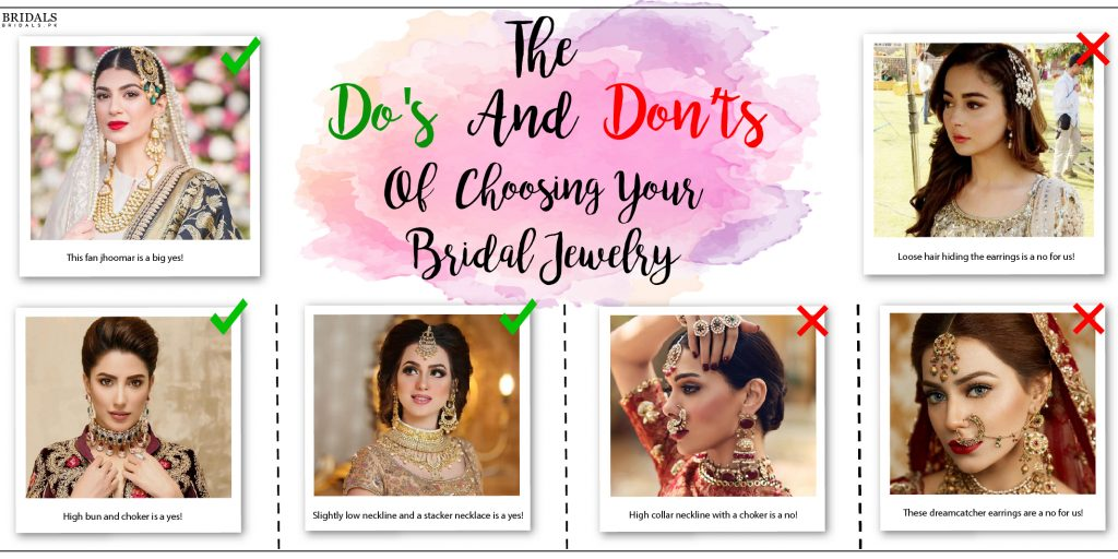 The Do's and Don'ts of Choosing Your Bridal Jewelry