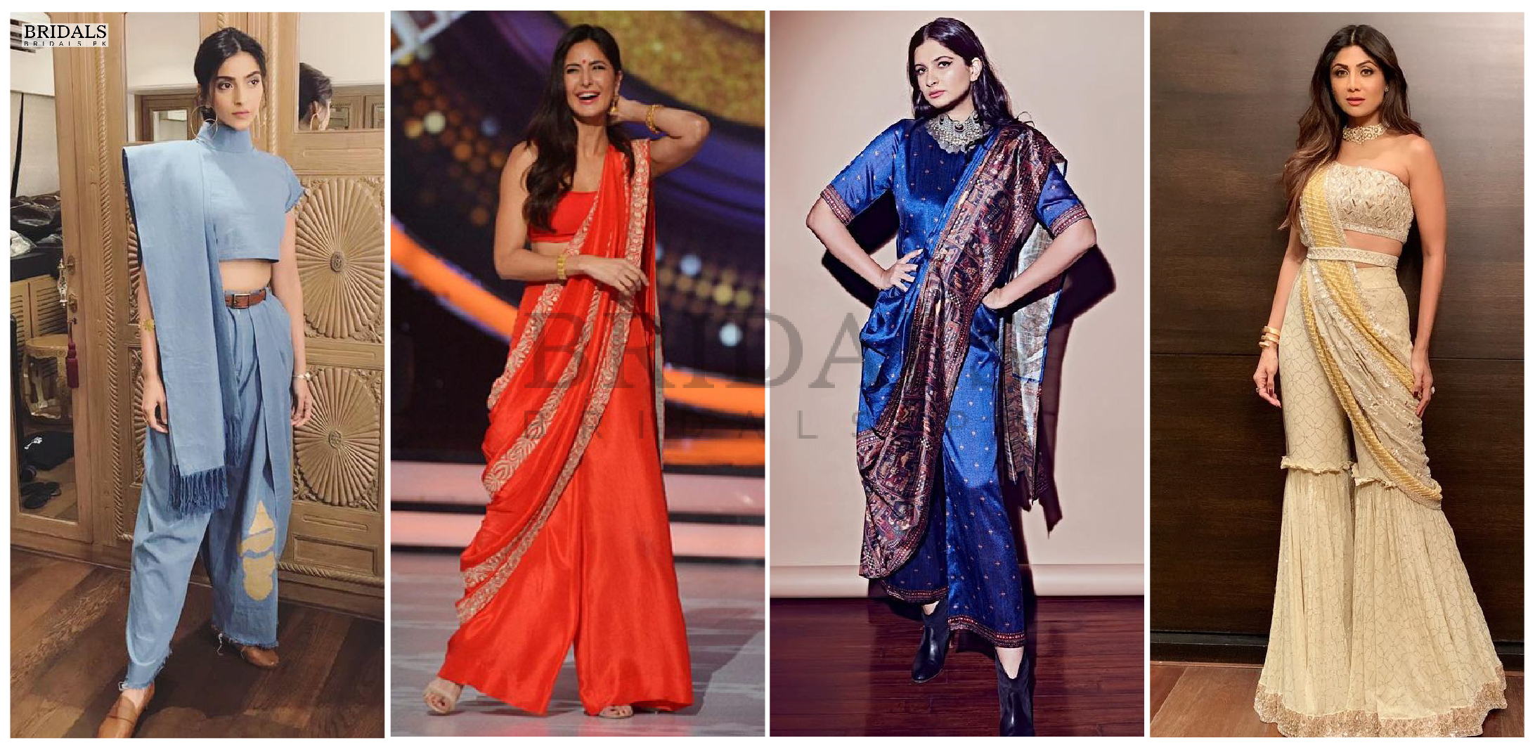 Palazzo Sarees Are Trending And For All The Right Reasons!
