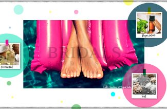DIY 3 Ingredient Foot Scrub For Your Bridal Beauty Regimen
