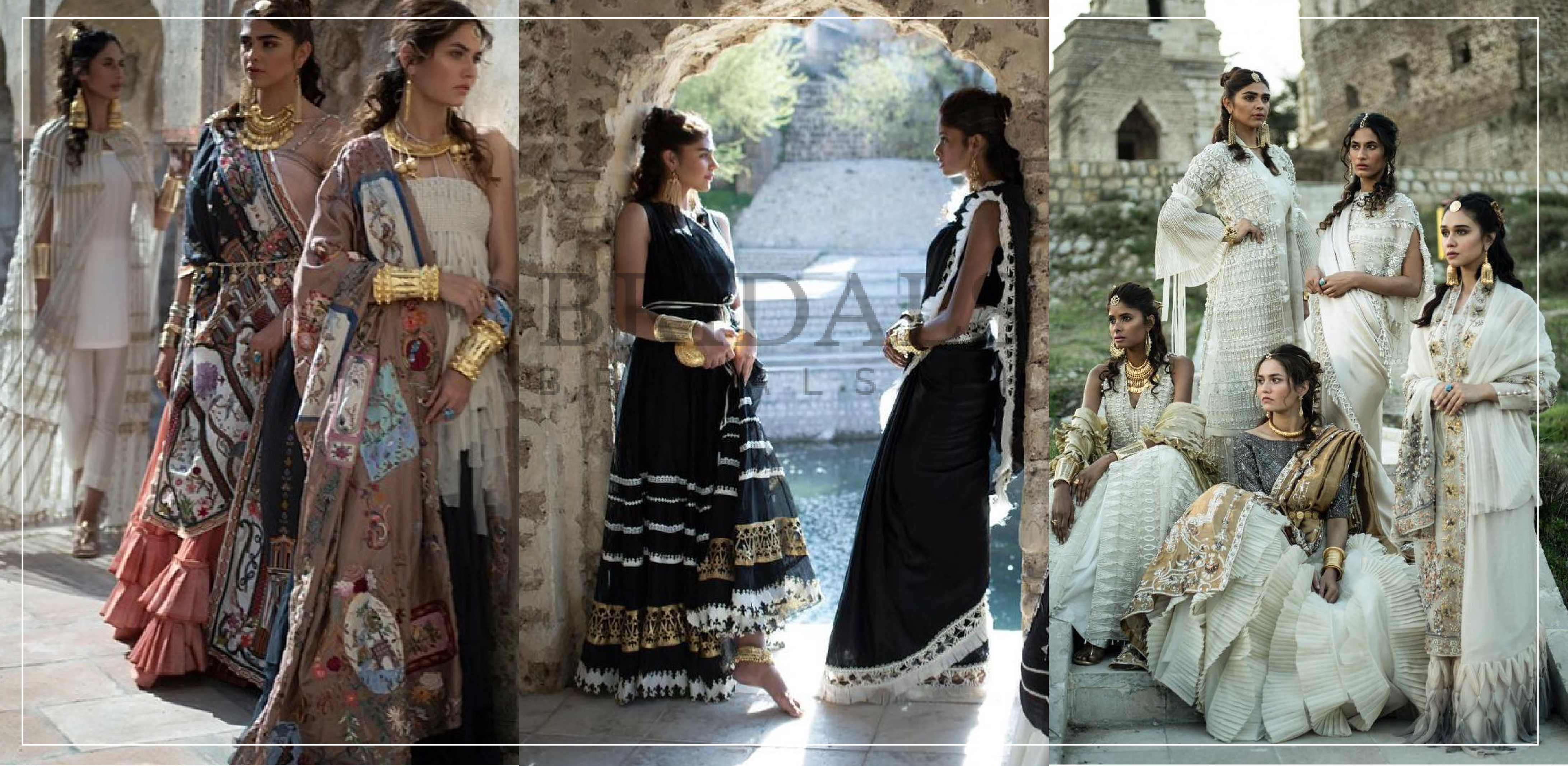 "Nida Azwer Raises The Bar Yet Again With Her Breathtaking Collection ""Katas Raj"""
