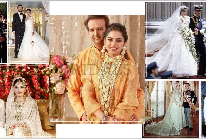 """8 Of The Most """"Big Fat"""" Celebrity And Socialite Weddings That We Can't Forget!"""