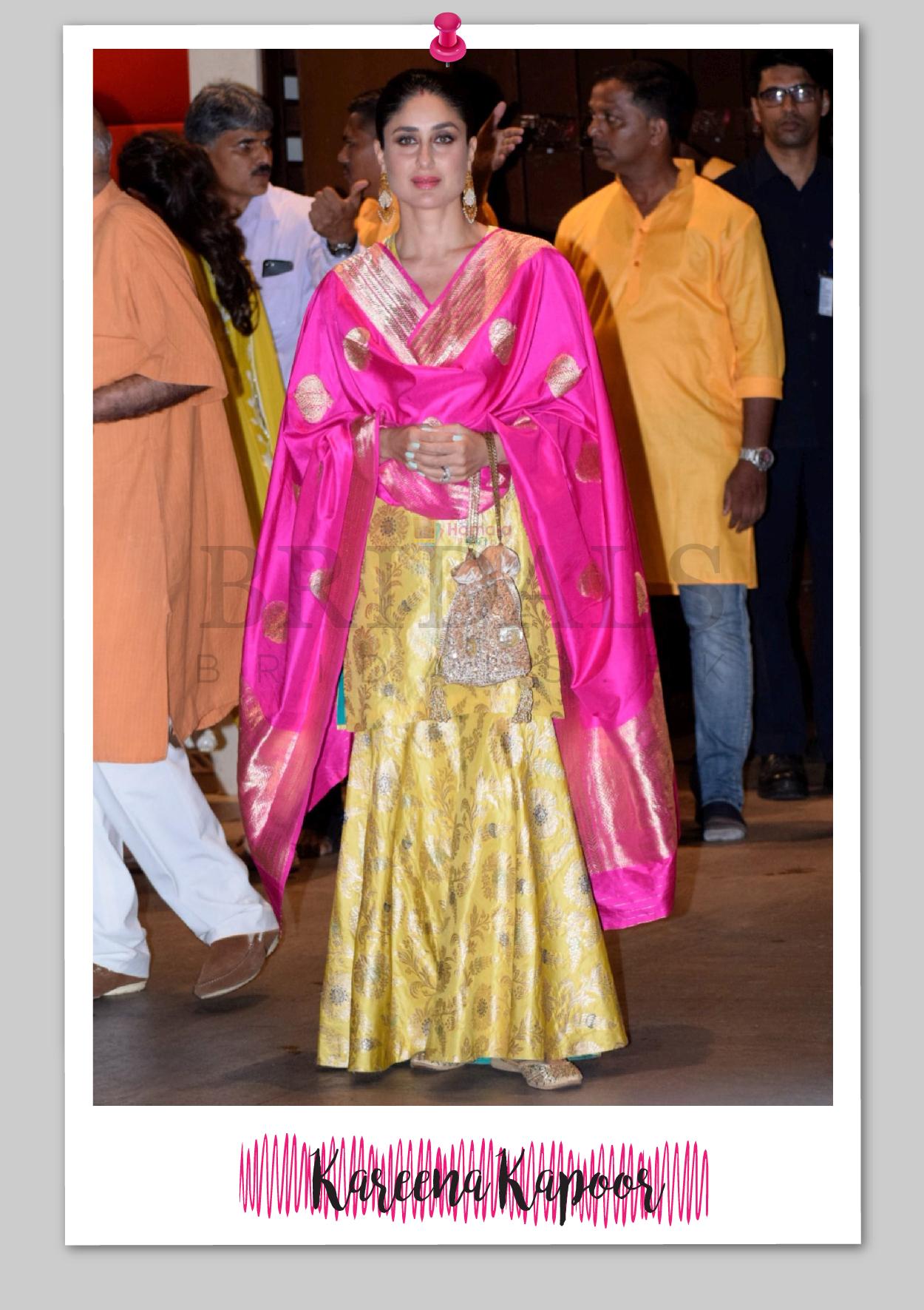 Kareena Kapoor Wears Raw Mango