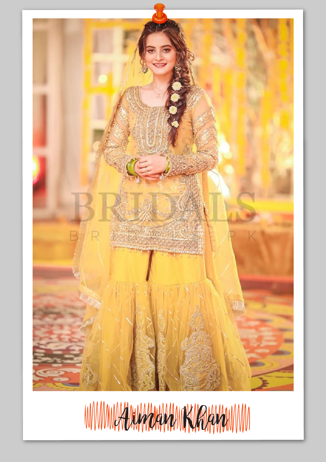 Aiman Khan in Erum Khan Couture