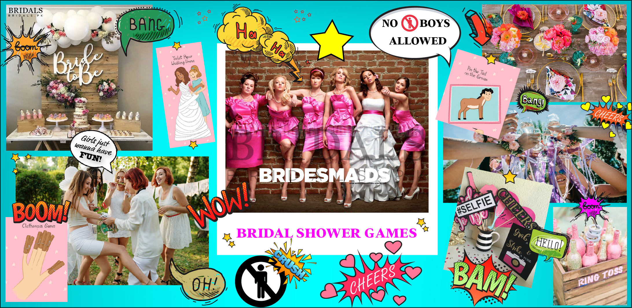 12 Bridal Shower Games to Get Your Bridal Party All Pumped Up!