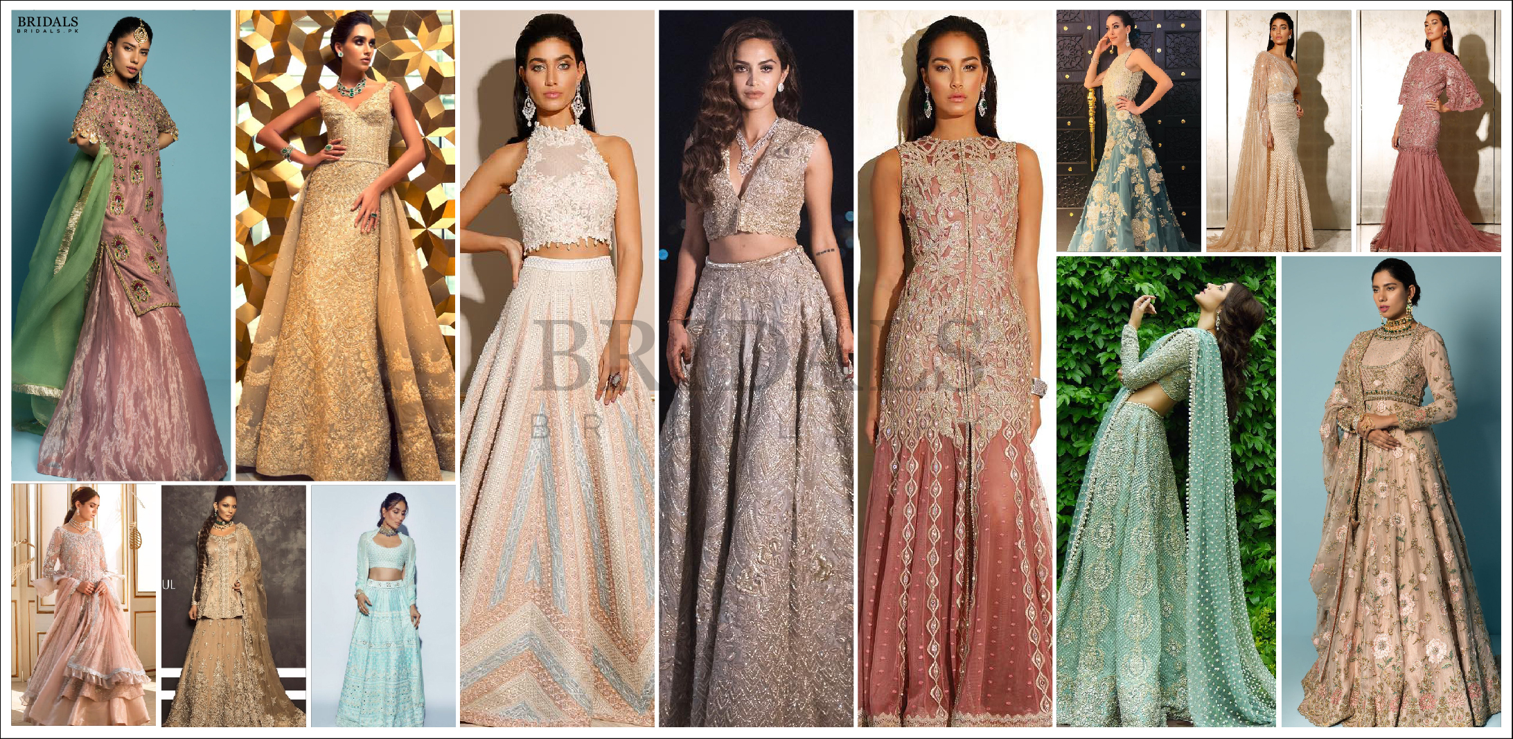For The Bride Who Loves Soft Hues: Pastel Lehenga's