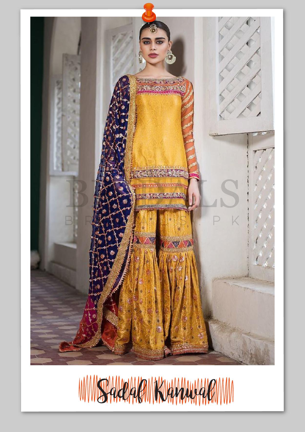 Sadaf Kanwal wears Zainab Chottani