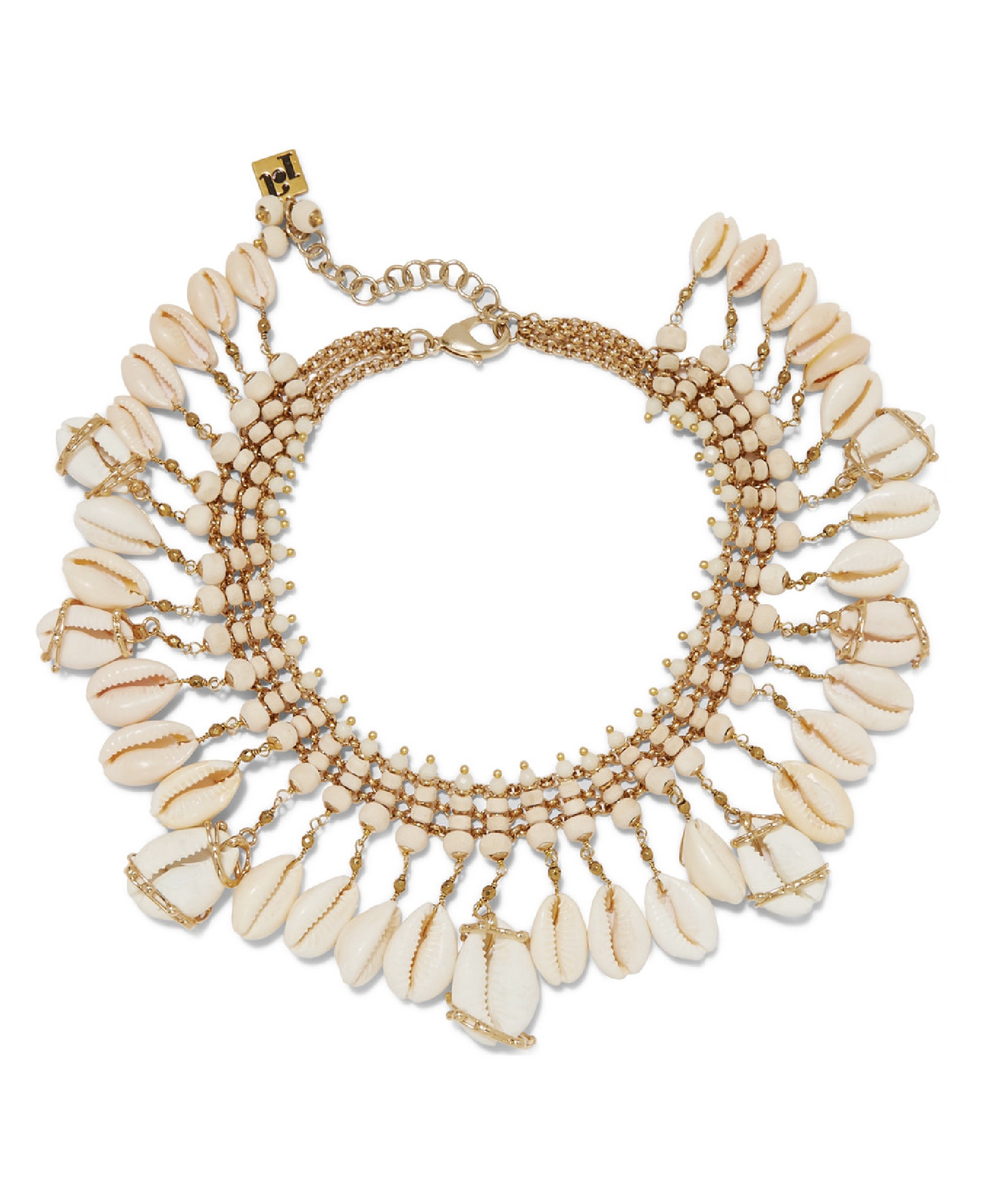 Rosantica - Gold-Tone, Bead And Shell Necklace