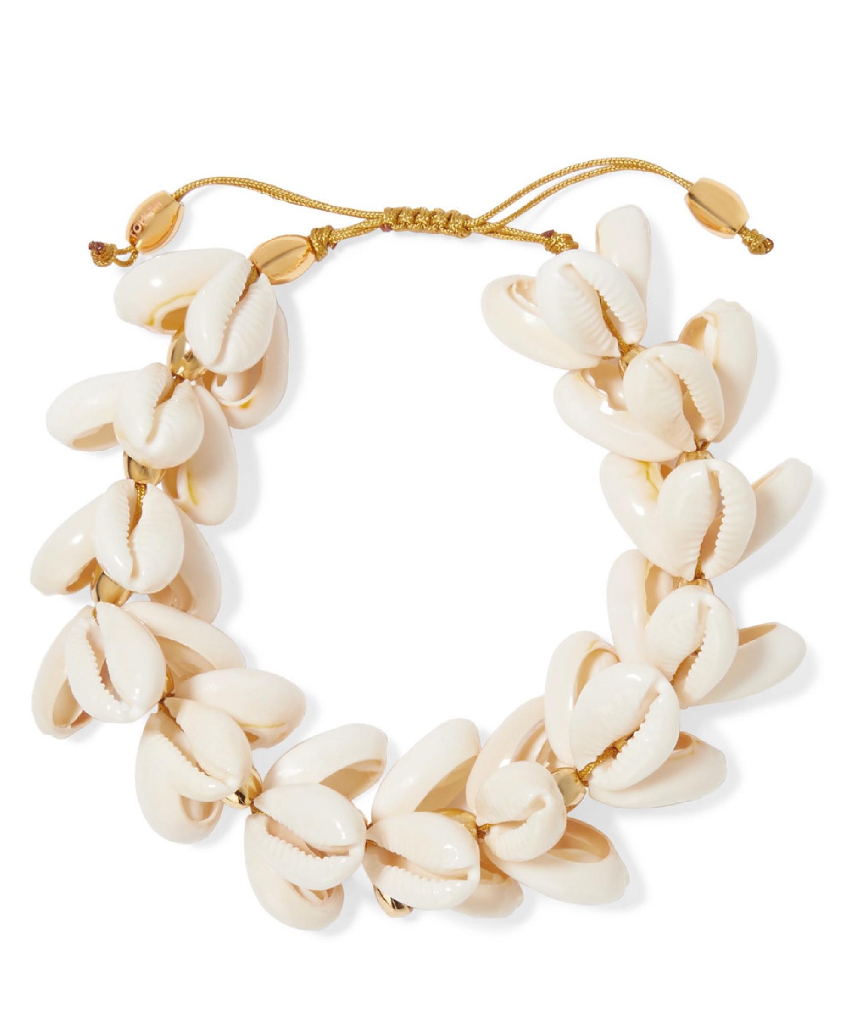 Tohum - Gold-Plated Shell Bracelet