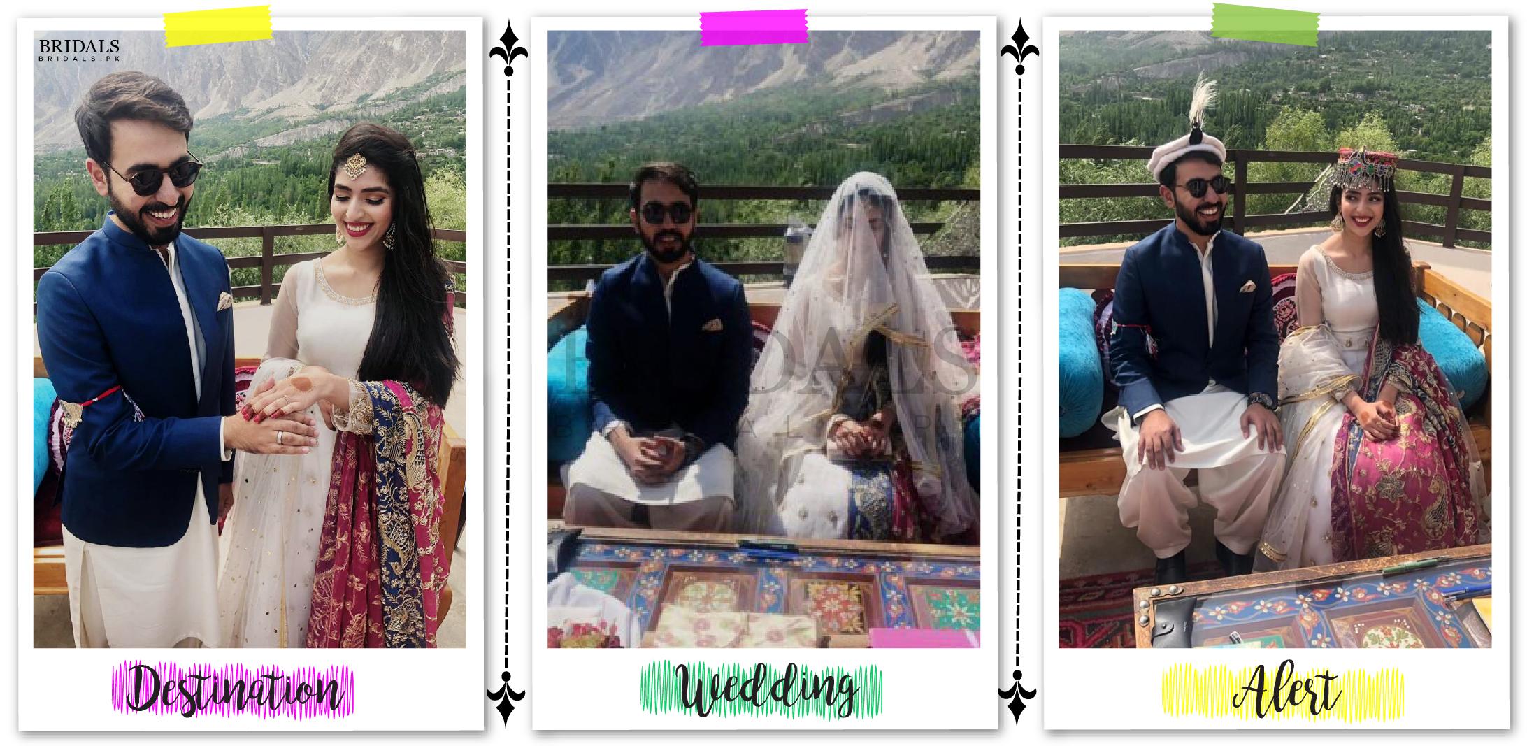 Destination Wedding Alert: Hunza Diaries