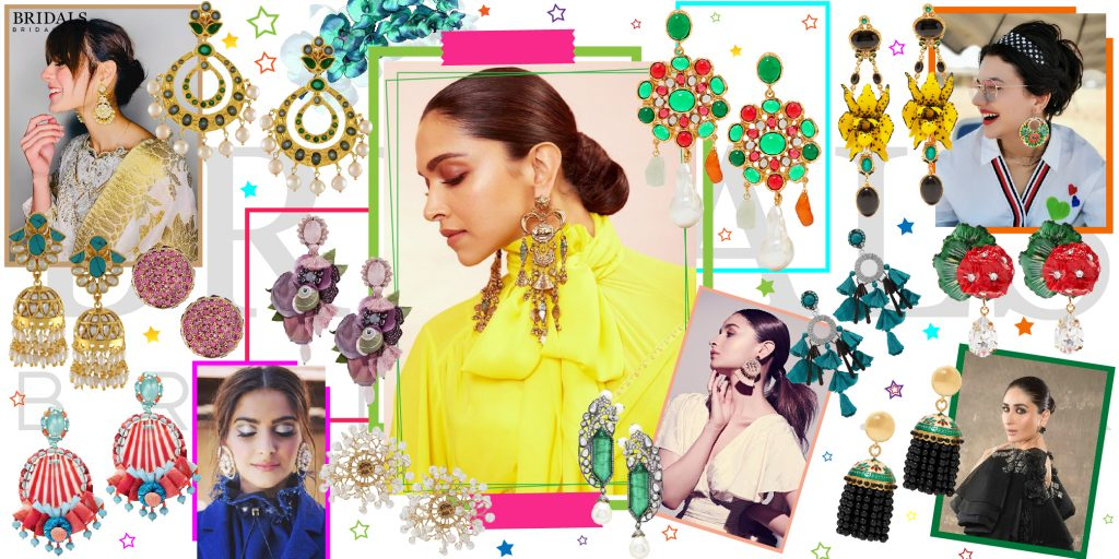 12 Celebrity Inspired Earring Trends For Summer Brides