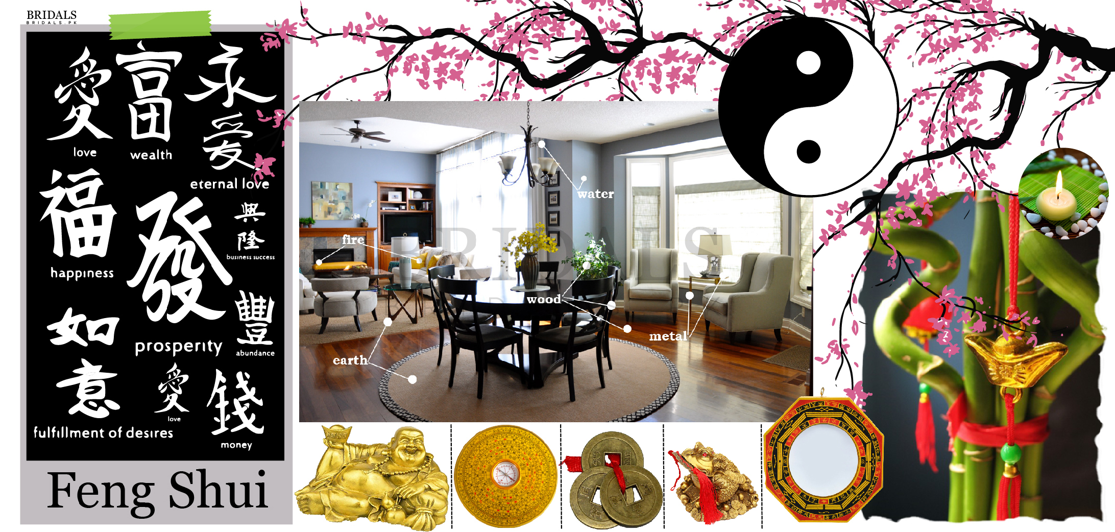 Feng Shui Couples: How To Introduce Feng Shui Into Your Home After Marriage