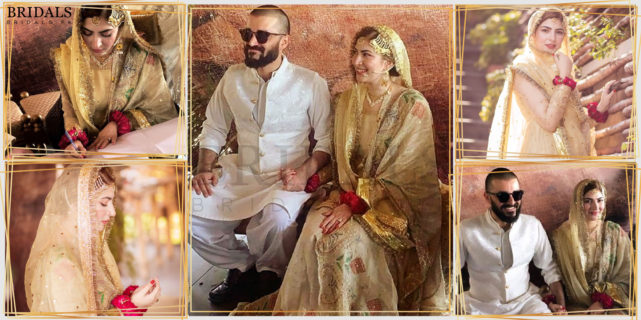 Hamza Ali Abbasi And Naimal Khawar Khan Got Married And Kept It Simple!