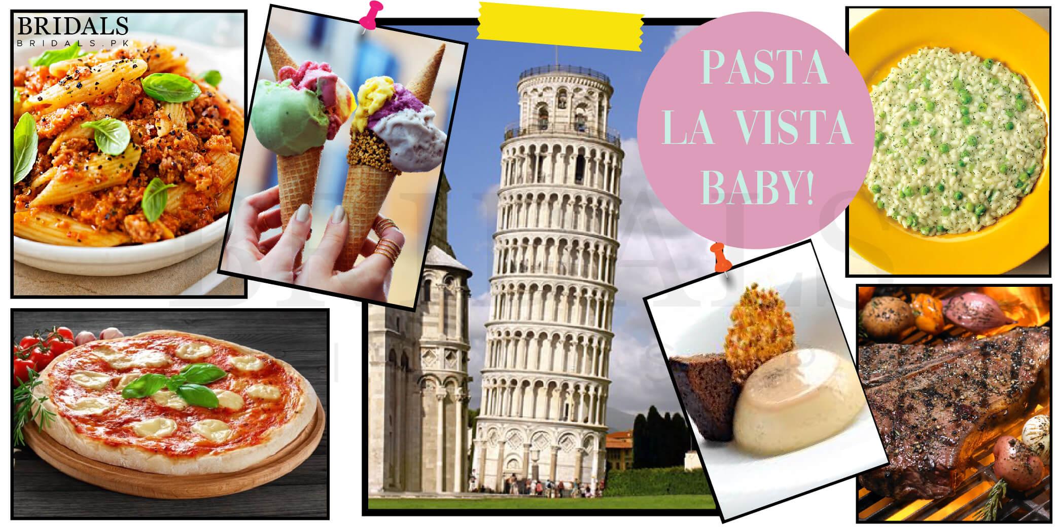 Pasta La Vista Baby: When In Rome, Eat As The Romans Do!