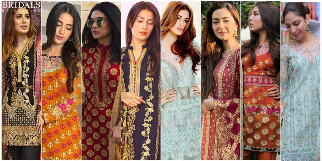 Taking Style Inspirations From Pakistani Celebrities In Zainab Chottani's Jamdani