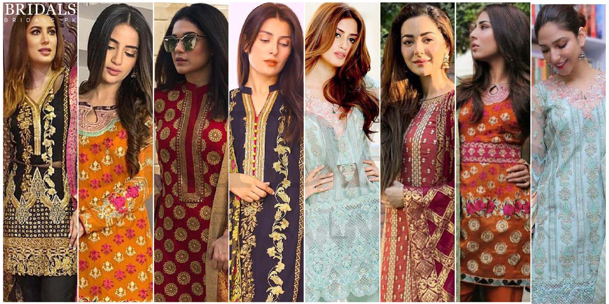 Taking Style Inspirations From Pakistani Celebrities In Zainab Chottani's Jamdani