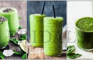 Green Winter Smoothie To Help Keep You Healthy And Hydrated!
