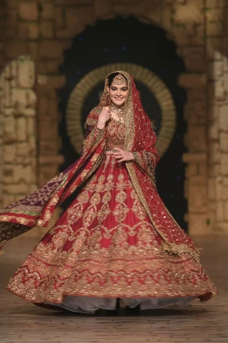 Aisha Imran - Bridal Couture Week - 2019