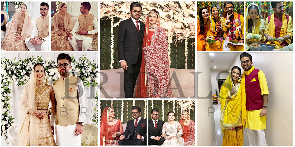 Sana Sarfaraz Walks Down The Aisle With Her Love, Amin Qureshi!