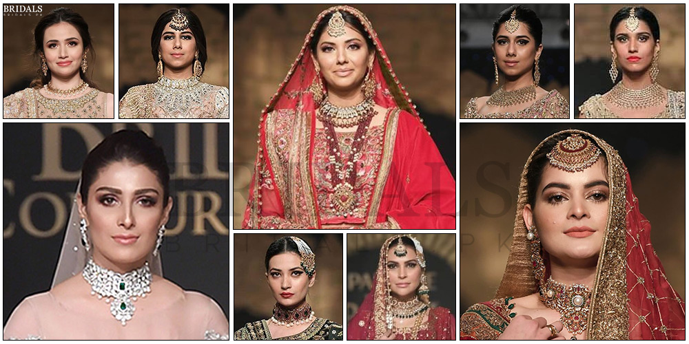 Hamna Amir Stuns Us With Her Jewelry At The Bridal Couture Week'19!
