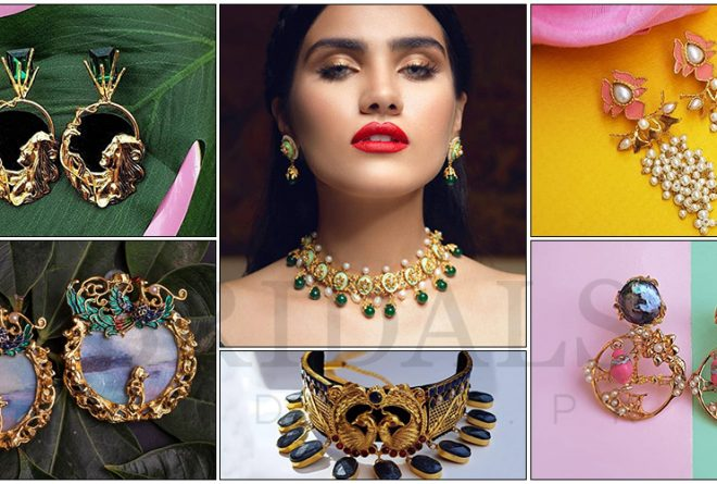 Contemporary Enameled Jewelry By Esfir For Your Bridal Trousseau!