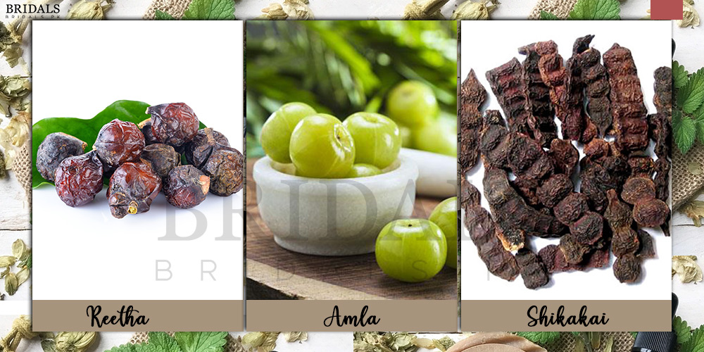 Benefits Of Using Amla, Reetha And Shikakai On Your Hair This Winter!
