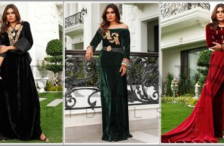Ayesha Ibrahim's New Velvet Collection Luxury Pret Is Perfect For The Winter!