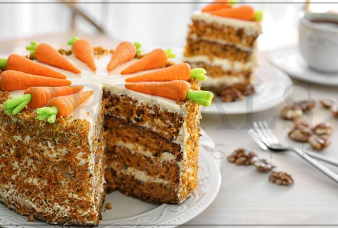Simple Recipe To Make The Best 3-Tier Carrot Cake Ever!