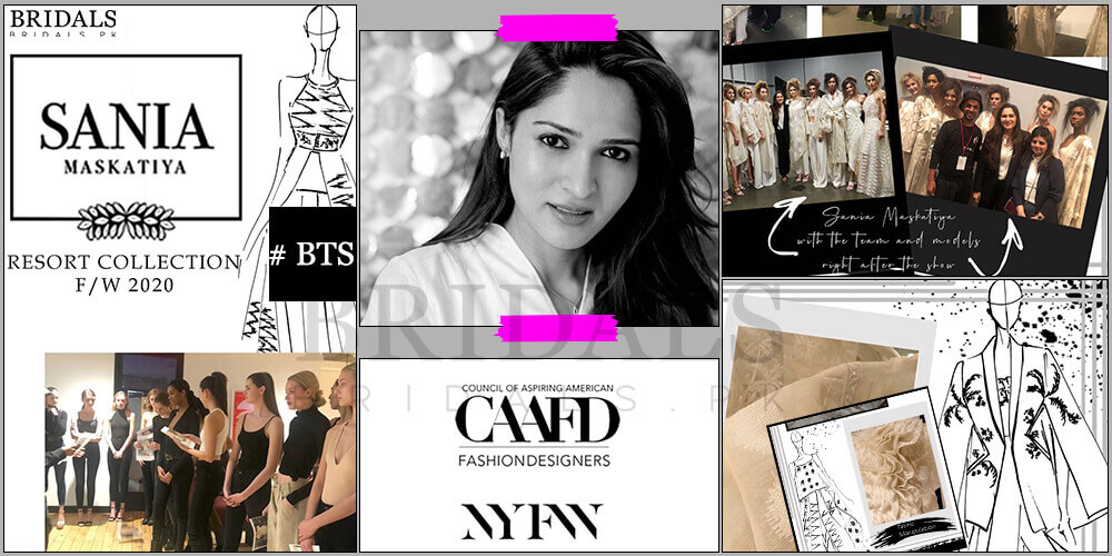 Sania Maskatiya: A Power Packed Showcase At New York Fashion Week!