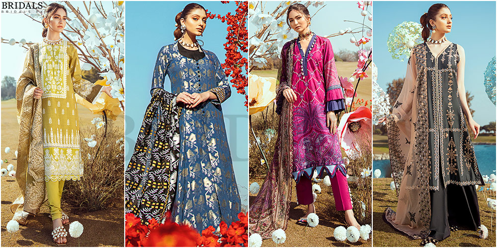 Cross Stitch's Latest Lawn Collection Koh Kaaf Join's The Lawn Mania!