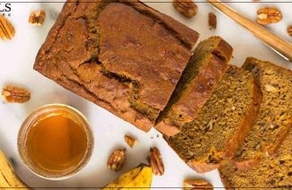 Banana Bread Recipe. Simple, Easy And Quick To Make!
